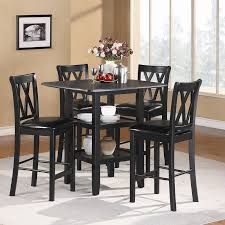 counter height dining room table sets darby home co kathie 5 counter height dining set reviews