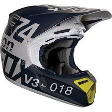 Motorcycle Helmet Lights Fox 2018 V3 Draftr Helmet Light Grey Online Motorcycle
