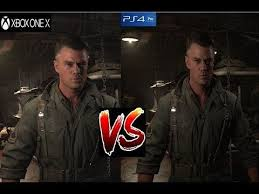 pubg xbox one x graphics call of duty ww2 xbox one x vs ps4 pro graphics comparison