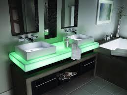 kohler waterfall faucet bath sink stunning visual with waterfall