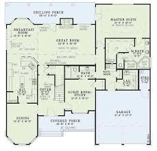 craftsman style house plan 4 beds 3 00 baths 2815 sq ft plan 17