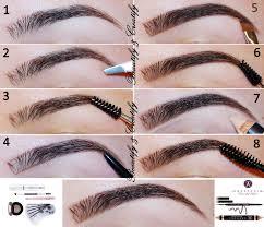 How To Do Eyebrow How To Do Your Eyebrows Anastasia U2013 World Novelties Makeup 2017