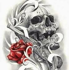 skulls and roses home