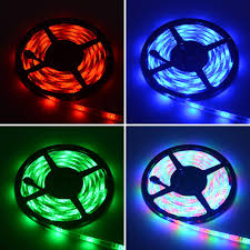 led strip lights for motorcycle hml 5m waterproof 24w rgb 2835 smd 300 led strip light with ir 44