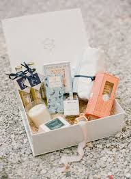 wedding welcome boxes 6 ways to make your destination wedding a killer vacation for your