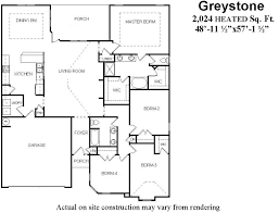 large open floor plans 4 bedroom home plan with large open concept living room bill