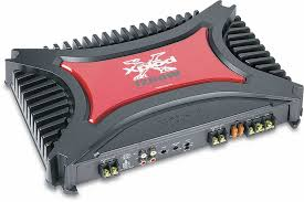 sony xm 2200gtx 2 channel car amplifier 200 watts rms x 2 at