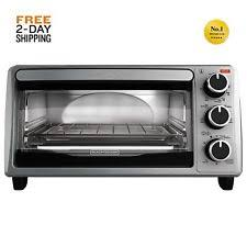 Farberware Toaster Oven Farberware 201348 Silver 4 Slices Stainless Steel Conventional