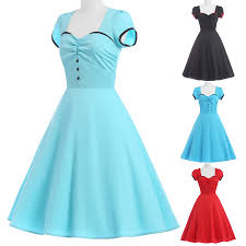 plus size vintage retro swing 50s housewife pinup party prom