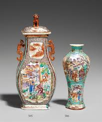 chinese vase appraisal a chinese export famille rose wall vase early 19th century