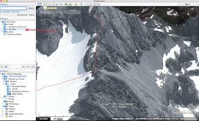 Map My Route Google by How To Make A Route Plan With Google Earth Mountain Addicts