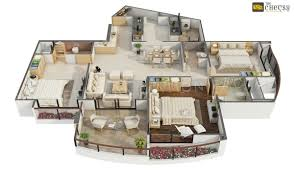 3d Floor Designs by 3d Floor Plan Design Interactive 3d Floor Plan Yantram Studio Best