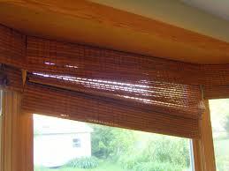 repairing a bamboo roman shade home baked