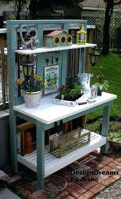 potting tables for sale garden potting bench potting bench plans mother earth news within