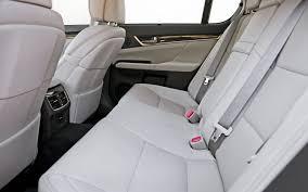 lexus gs rear seat fold 2013 lexus gs 350 road test