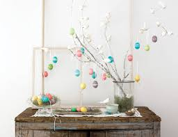 Easter Egg Tree Decorations by Funky Easter Eggs Decorations