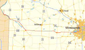 map mn minnesota state highway 7