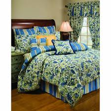 Amazon King Comforter Sets Amazon Com Waverly Imperial Dress Porcelain Queen Comforter Set