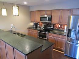 kitchen open kitchen galley decoration using solid light oak