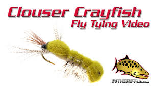 clouser crayfish fly tying video instructions bob clouser fly