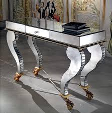 Venetian Console Table Deco Console Table Venetian Glass Consoles Llorente