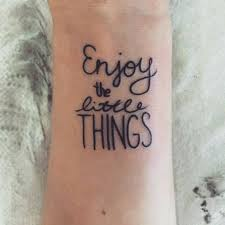 Tattoos Of Sayings And - the 25 best wrist tattoos sayings ideas on small bird