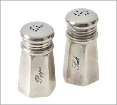 antique silver salt pepper shakers pottery barn au