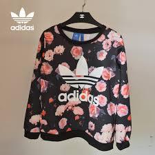 adidas sweater adidas flower sweater 1575