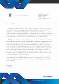 business paper template 45 free letterhead templates examples