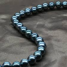 pearls necklace price images Buy 9 10mm big pearls natural pearls black pearl jpg