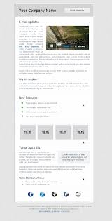 free html email newsletter template
