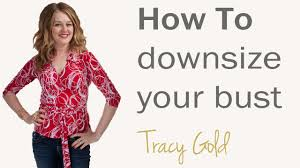 secrets to slim dressing for over 40 u0027s how to downsize your bust