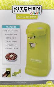 amazon com electric can openers home kitchen kitchen selectives colors electric can opener lime green lime green
