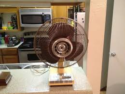 Oscillating Desk Fan by Super Deluxe Envi Ro Temp 12