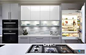cleaning high gloss kitchen cabinets stunningly modern high gloss kitchen design in norman oklahoma