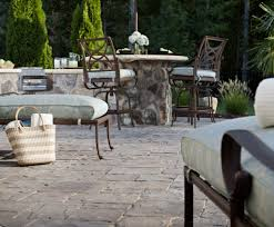 How To Lay Patio Pavers On Dirt by Pavers Vs Concrete Cost Comparison Guide Install It Direct