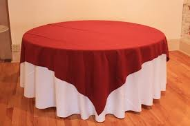 tablecloth for 6 foot table what size overlay do i need for a 6 foot round table
