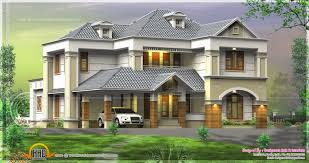 3d rendering of 241 square meter house kerala home design and
