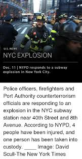 Memes Nyc - us newws nyc explosion dec 11 nypd responds to a subway explosion