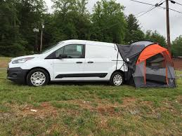 Van Rear Door Awning Ford Transit Connect Suv Tent Rightline Gear