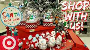 Walgreens Christmas Decorations Shop With Me Target Christmas Decorations Prep 2017 Youtube