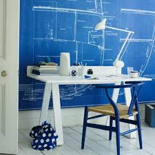 decorating simple white chair paired with glass desk plus