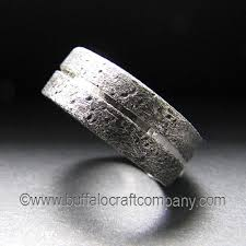 rustic mens wedding bands rustic collection buffalo craft company llc