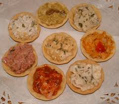 shoing canapé canape base ideas easy ritz cracker canap s the view from great island