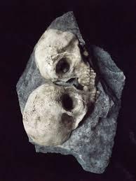 love rock human skulls macabre home indoor dungeon decor