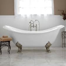 Clawfoot Tub Bathroom Design Ideas Bathroom Cast Iron Imperial Feet Claw Foot S Baths Isabella