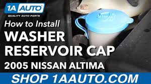 nissan altima 2005 original parts how to install replace windshield washer reservoir cap 2002 06