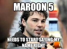 hockey memes on twitter hey maroon5 sort it out please http t