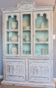 painted hutch in sterling u2013 all mimsy home
