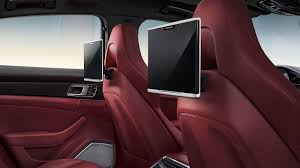 red porsche panamera 2017 2017 porsche panamera interior spiced up dubai abu dhabi uae